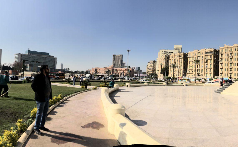 Tahrir Sq Cairo-Rob Shields CCNC 2018